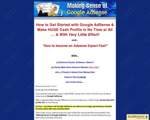 Making Sense of Google Adsense - Become an Adsense Expert