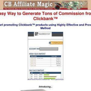 CB Affiliate Magic | Clickbank Affiliate Marketing
